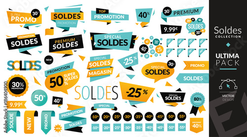 Fotomural pack soldes