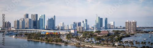 Canvas Prints Kuala Lumpur Miami Skyline