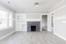 Living Room Interior After Rem...