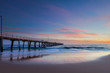 A sunset at Port Noarlunga Beach in South Australia