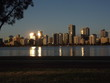 City views of Perth Australia sundown/dusk
