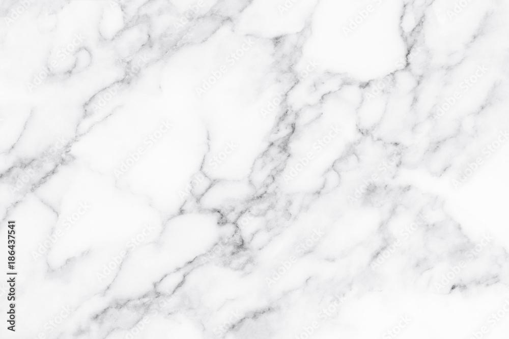 Fototapeta White marble texture and background.