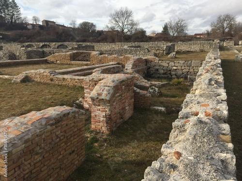 Alba Fucens Roman remains Canvas Print
