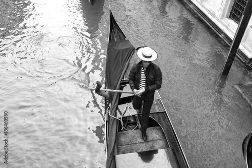 Fototapeta The Venetian gondolier
