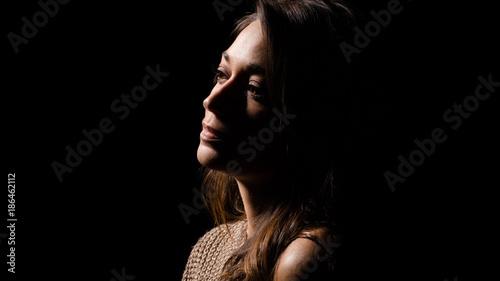 Fototapeta Portrait de femme obraz