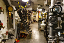 Gangway Of A Ship Engine Room