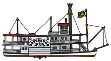 The Classic Paddle Steamer