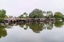 Small Boats At Yumuri River In...