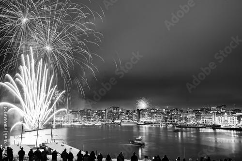 Photo  New Years Eve in Oslo
