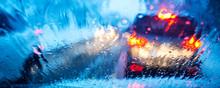 Heavy Rain During Rush Hour