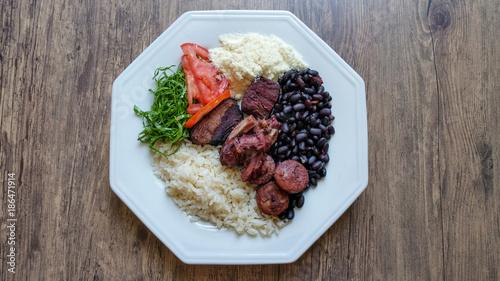 Deurstickers Klaar gerecht Feijoada - Brazilian food