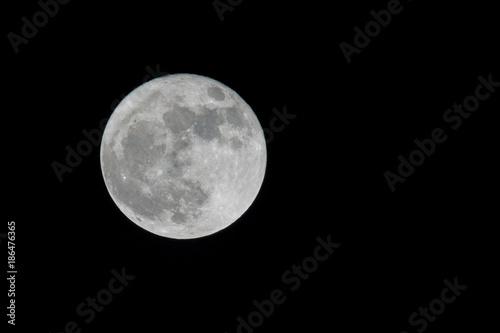 Poster Pleine lune new moon
