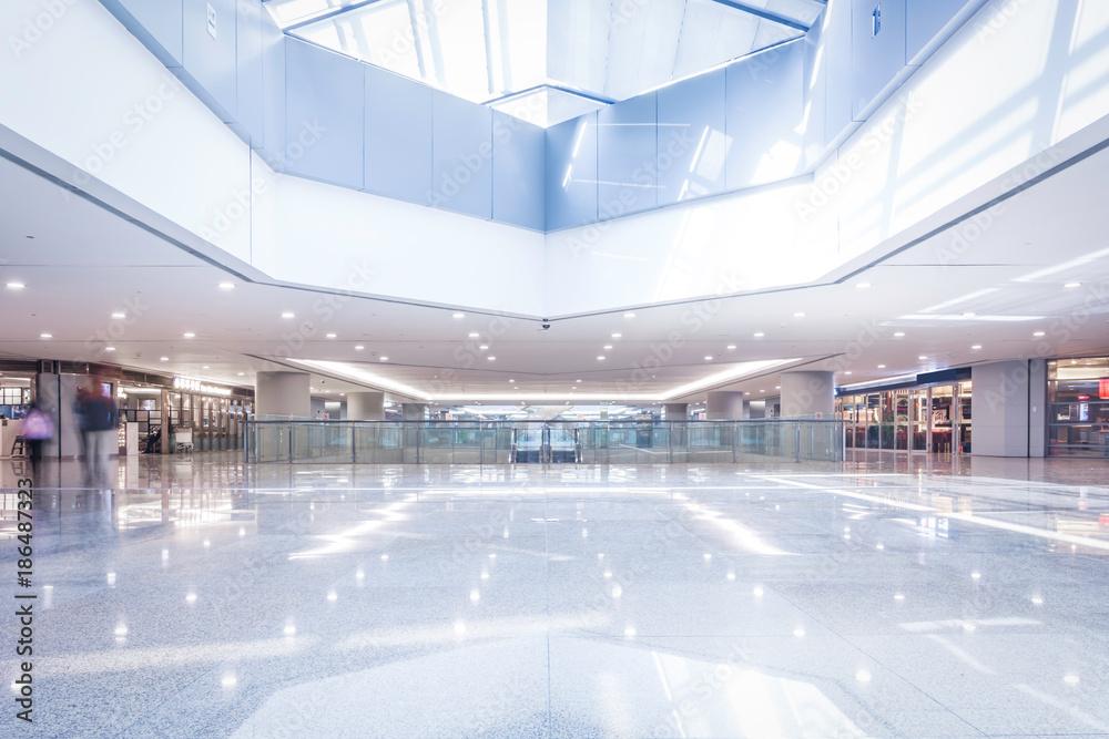 Fototapeta interior of shoppingmall