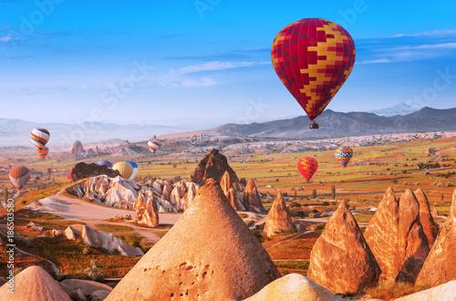 air balloon in Cappadocia, Turkey