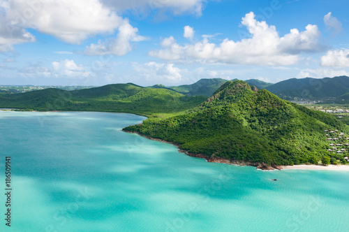 Photo Caribbean island of Antigua