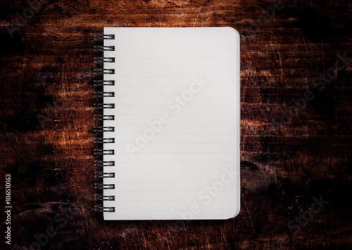 Blank to do list on wooden background Poster