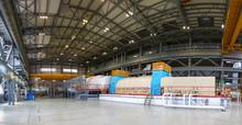 Powerful Steam Turbine In The ...
