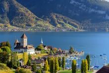 Beautiful Landscape Of Lake Th...
