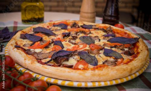 #pizza #food #tomato #egg #potato © Дмитрий Бычков