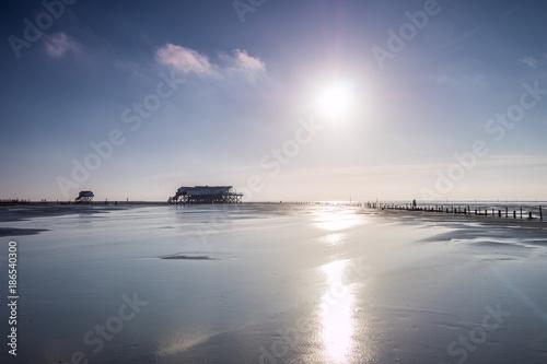 Spoed Foto op Canvas Noordzee an der Nordseeküste