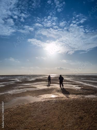 Spoed Foto op Canvas Noordzee Wattenmeer Nordsee