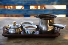 Turkish Coffee Setting In Leba...