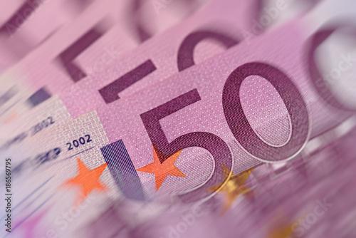 Fotografia  Fünfhunderter, Geldscheine, 500, Euro