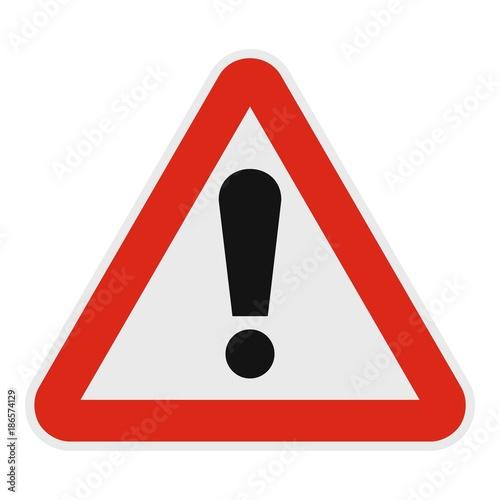 Fotografie, Obraz  Exclamation point icon