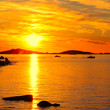 Scilly Isles Sunset from St Marys