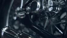 Motorcycle Background. Compone...