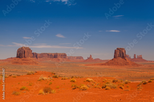 Stampa su Tela  Monument Valley in the Navajo Tribal Park, USA