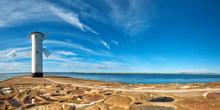 Panoramic Image Of An Old Ligh...