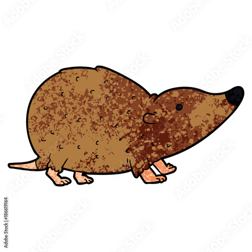 Fotografie, Obraz cartoon shrew