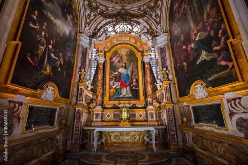 Fototapeta Saint Louis des Francais church, Rome, Italy