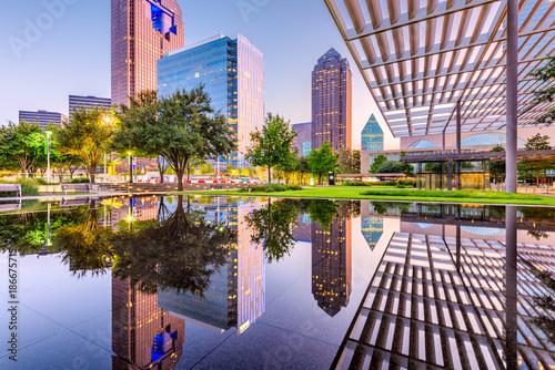 Tuinposter Rotterdam Dallas, Texas, USA