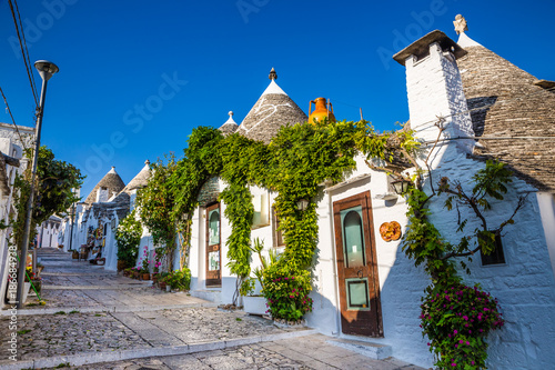Alberobello With Trulli Houses - Apulia, Italy Wallpaper Mural