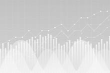 Financial Data Graph Chart, Ve...