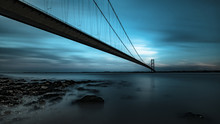 The Humber Bridge From Hessle ...