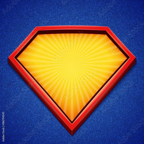 Superhero background Tablou Canvas