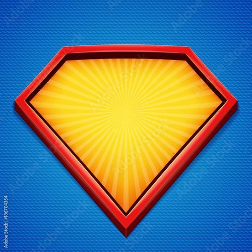 Fototapeta Superhero background
