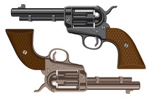 Collection Of Big Old Revolver...