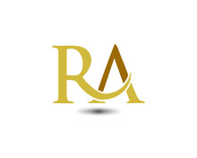 Ra Letter Logo