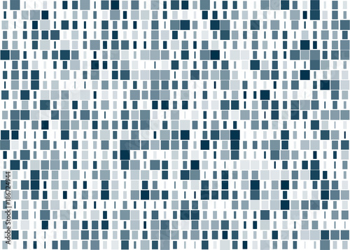 Square and rectangle seamless pattern background Canvas-taulu