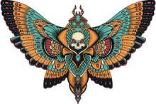 Patterned Butterfly . Ornate M...