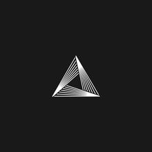Triangle Logo Linear Infinity ...