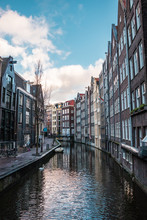 Buildings In Amsterdam Canal