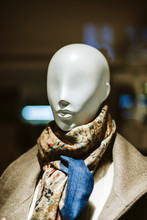 Elegant Mannequin Wearing Beau...