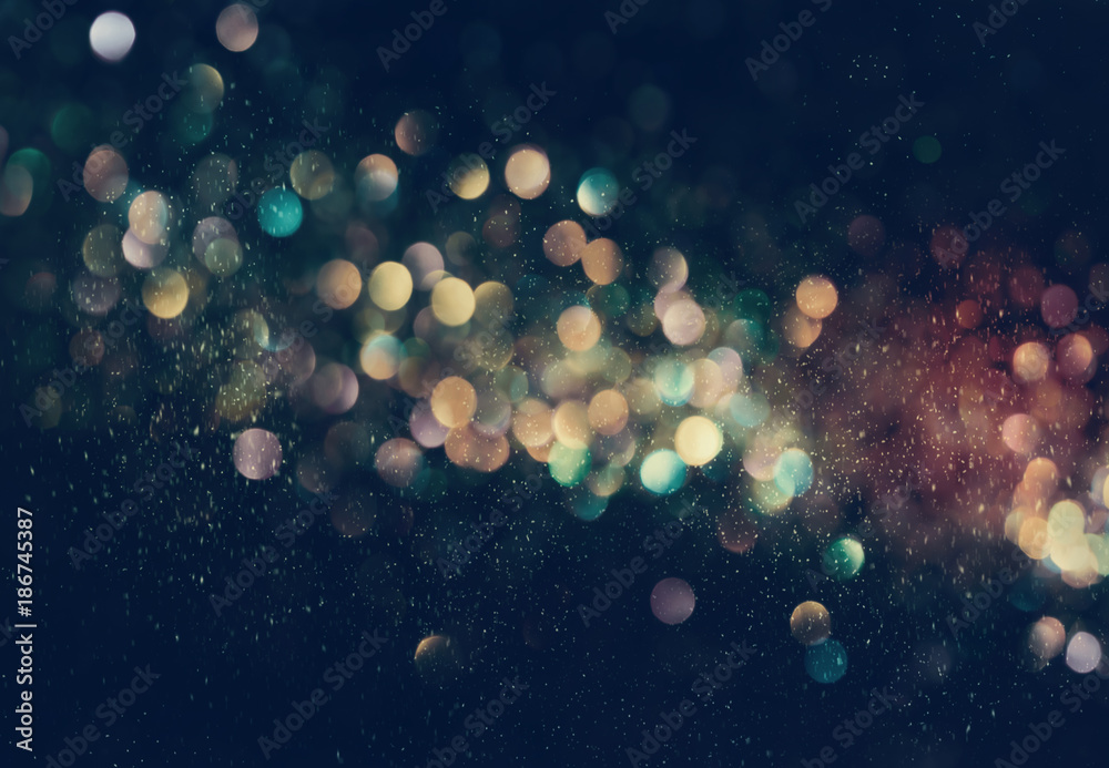 Fototapeta Beautiful abstract shiny light and glitter background
