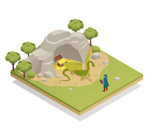 Fairy Tale Isometric Compositi...