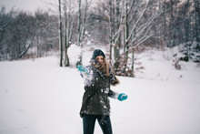 Throwing Snowball